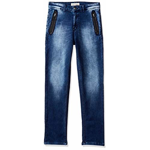PalmTree Boys' Slim Regular Fit Jeans