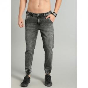Roadster Black Denim Skinny Fit Stretchable Jeans