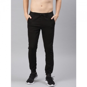 HRX by Hrithik Roshan Black Denim Slim Fit Jogger Jeans
