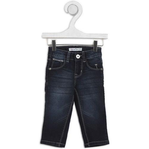 Palm Tree Regular Boys Dark Blue Jeans