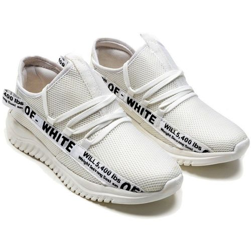 DEALSINJAIPUR Sneakers For Men(Off White)