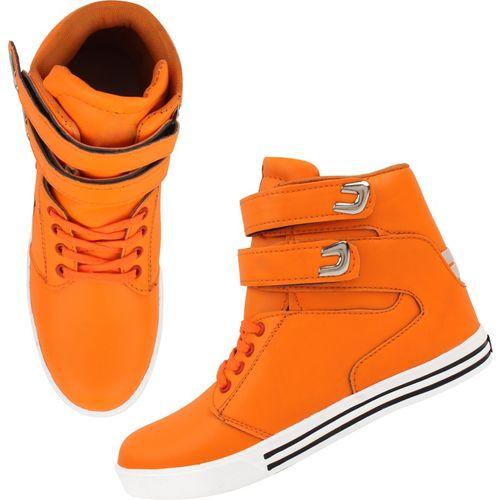 ZIXER Zixer Exclusive Bolly Wood Dancing Boots Sneakers For Men(Orange)