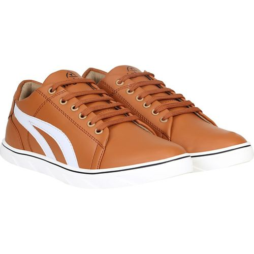 Knight Ace Trendy Sneakers For Men(Tan)
