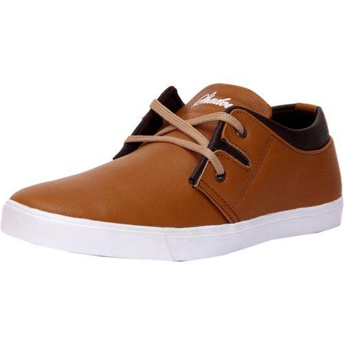 Shadows Tan Trotters Sneakers For Men(Tan)