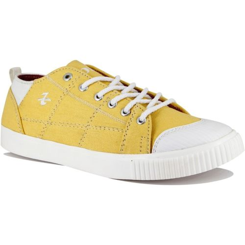 Raishel Caflaire Bold Sneakers For Men(Yellow)