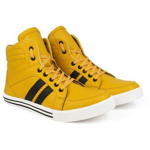 ZIXER Sneakers For Men(Yellow)