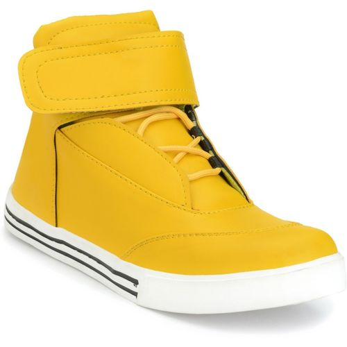 DE ROCK Sneakers For Men(Yellow)