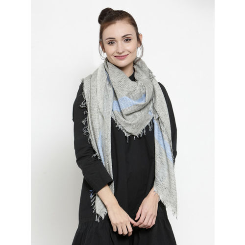 J Style Multicoloured Solid Scarf