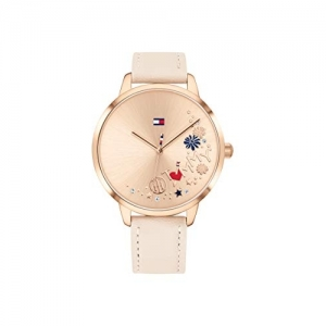 Tommy Hilfiger Analog Rose Gold Dial Watch