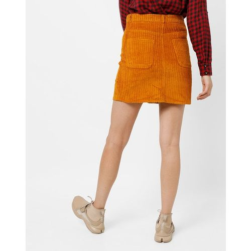 TRENDYOL Mini Skirt with Button Placket