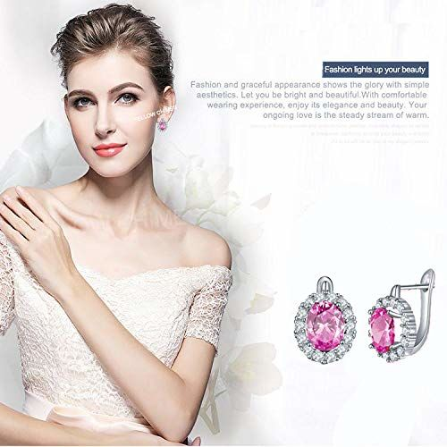 Yellow Chimes Crystals from Swarovski Stylish Clip On Studs Earrings for Women and Girls Party Wear Fashion Jewellery