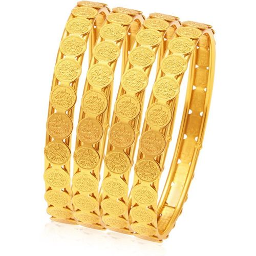 Sukkhi Alloy Gold-plated Bangle Set(Pack of 4)