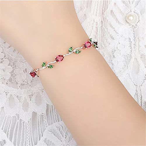 Shining Diva Fashion Latest 18k Rose Gold Bracelet for Girls and Women
