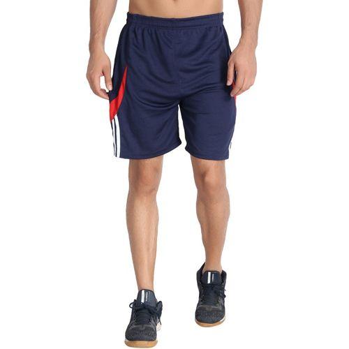 M.R.D. Self Design Men & Women Dark Blue Sports Shorts