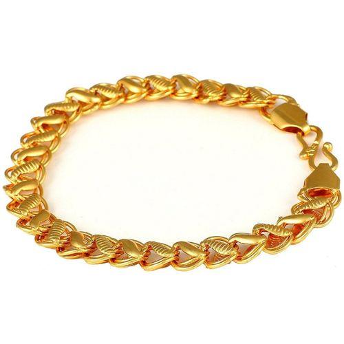 King of World Fashion Alloy Gold-plated Bracelet