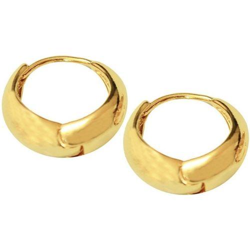 Men Style Best Quality Korean Made Big Salaman Khan Inspired Gold Earring Er01007 Stainless Steel Hoop Earring