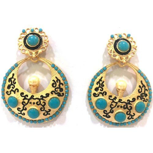 Shweta Jhumki Earring Alloy Chandbali Earring