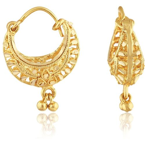 Vighnaharta Traditional Bucket Bali Alloy Gold and Micron Plated Earring Alloy Drops & Danglers