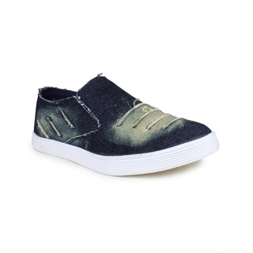 75e69864132 Buy Beonza Blue Denim Jeans Loafers shoes online