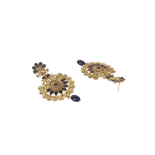 Shining Diva Women Gold-Plated & Antique Embellished Jewellery Set