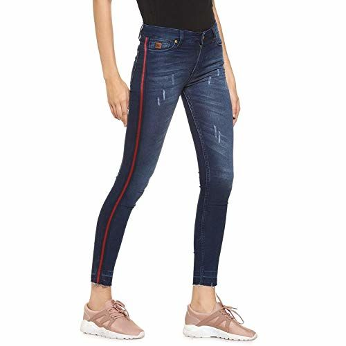 Campus Sutra Women's Skinny Fit Jeans