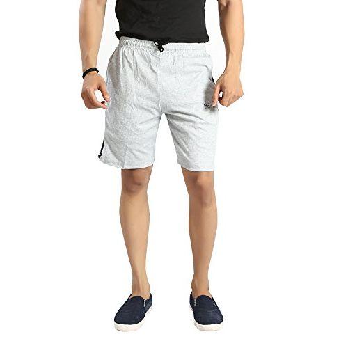 Particle Mens Shorts Cotton - Half Pants for Men Regular Fit (Waist Sizes 30-48) 13SHO3PMG