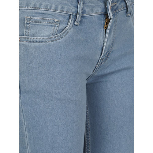 ether Women Blue Skinny Fit Mid-Rise Clean Look Stretchable Jeans