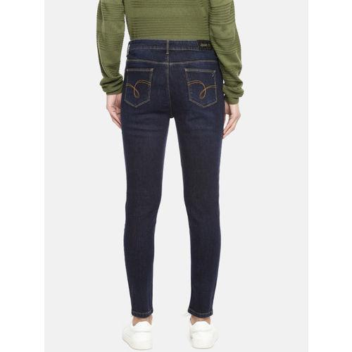Jealous 21 Women Blue Hottie Regular Mid-Rise Clean Look Stretchable Ankle Length Jeans
