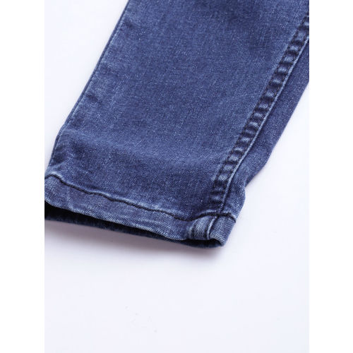 Harvard Women Blue Skinny Fit Mid-Rise Clean Look Stretchable Jeans