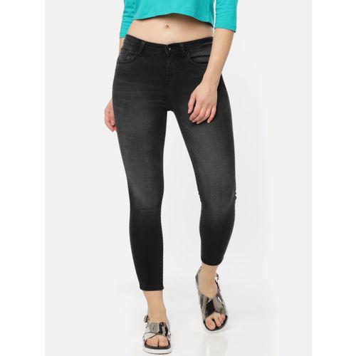 Jealous 21 Women Black Regular Fit Mid-Rise Clean Look Stretchable Jeans