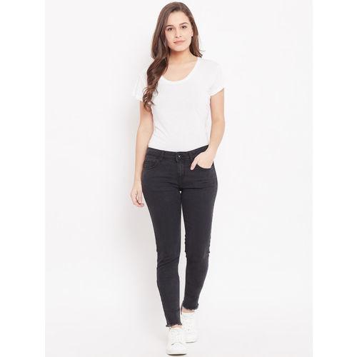 Jealous 21 Women Black Hottie Super Skinny Fit Mid-Rise Clean Look Stretchable Jeans