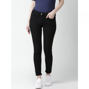 Mast & Harbour Women Black Skinny Fit Stretchable Jeans