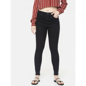 SPYKAR Women Black Alexa Super Skinny Fit High-Rise Clean Look Stretchable Jeans