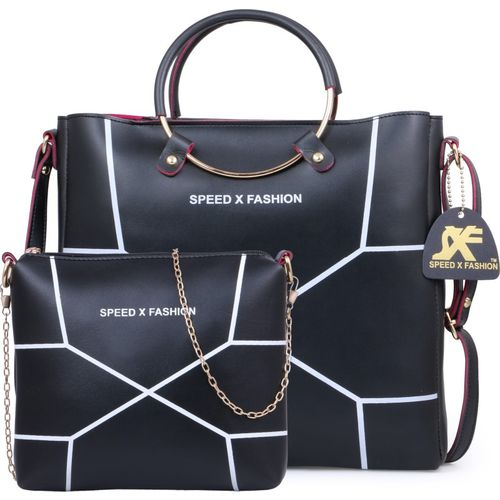 Speed X Fashion LWH00ST-03 Black Hand-held Bag