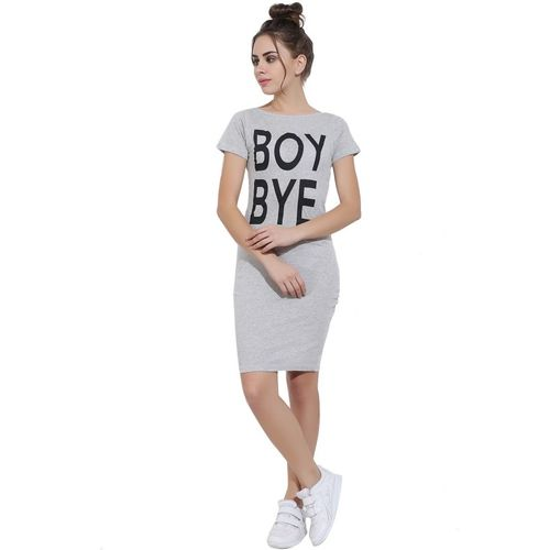 Aayu Women Bodycon Grey Dress