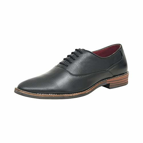 Red Arrow Men's Patent Leather Formal Tan Lace up Shoes + Party Wear Formal Shoes
