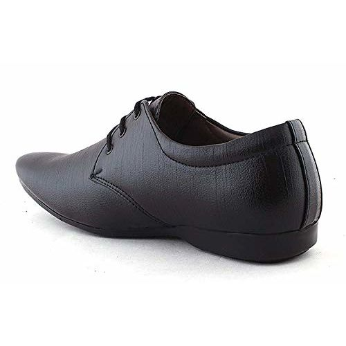 Walkshoe Leather Formal Shoes/Men's Black/Brown/Tan/White Lace up Office Wear Synthetic Leather Formal Shoes