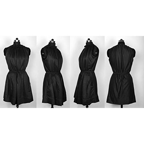 Trendz Creation Women's Crepe Western Skater Midi Dress | Knee Length One Piece Dress for Girls