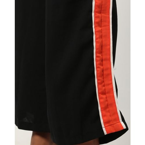 Rare One-Shoulder Jumpsuit with Contrast Panels