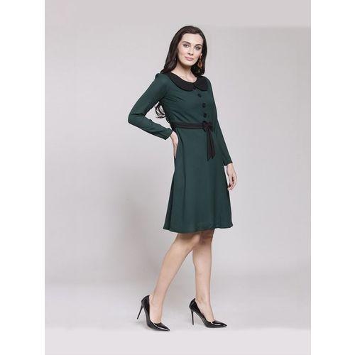 PlusS Green Above Knee Dress
