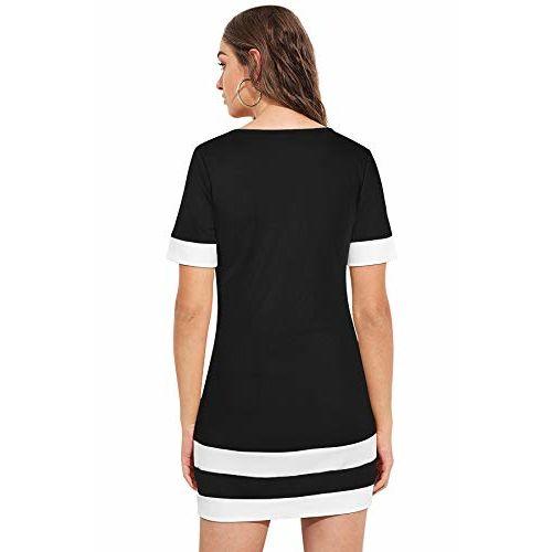 ILLI LONDON Women's Half Sleeve Bodycon Shift Dress