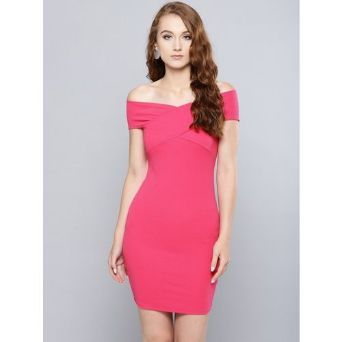 Veni Vidi Vici Women Bodycon Pink Dress
