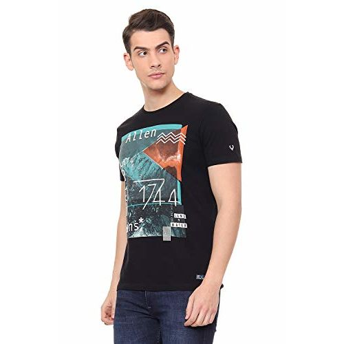 Allen Solly Men's Printed T-Shirt