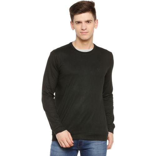 Allen Solly Solid Men Round Neck Black T-Shirt