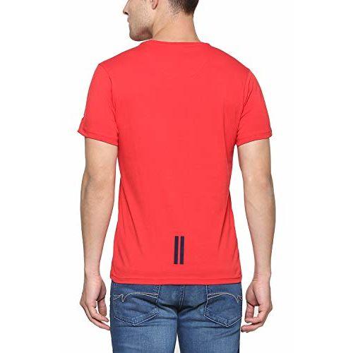 Allen Solly Men's Printed Regular fit T-Shirt