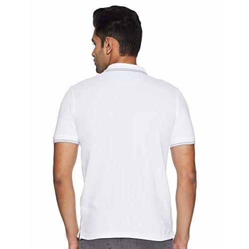 Allen Solly Men's Solid Regular Fit T-Shirt
