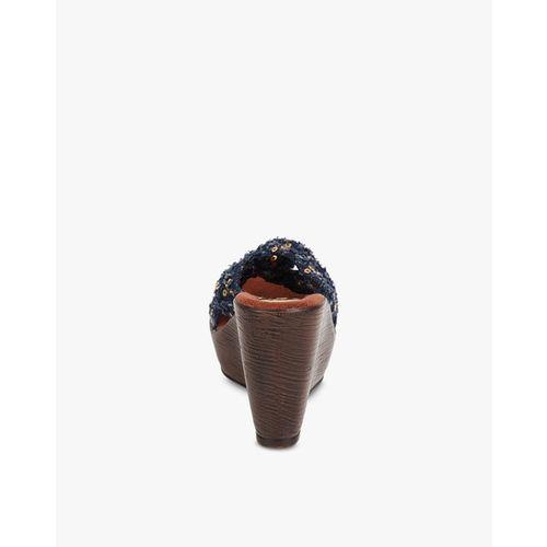 CATWALK Embellished Knotted Wedges