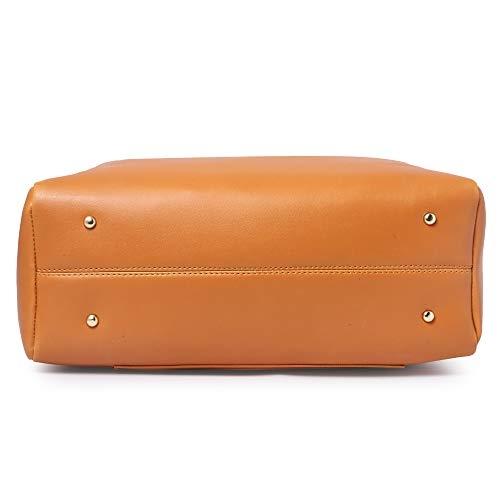 Speed X-Fashion tan Polyurethane Solid Handbags pack of 3