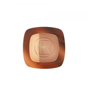 L'Oreal Paris Glam Bronze (102 Harmony Brown) 9 g with Ayur