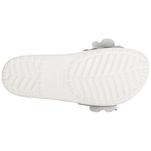 Crocs White Slip-On Flipflops